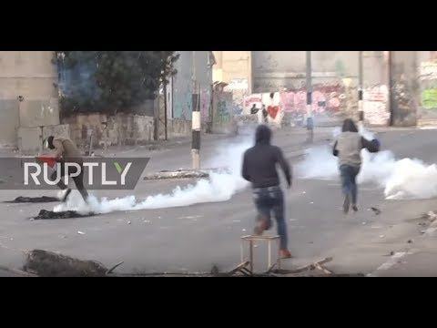 State of Palestine: Protests continue to rage in Bethlehem following Trump's announcement