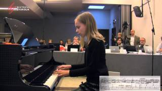Henri Bertini: Etida u C - duru op. 29, br. 1 - Lorena Cahunek, klavir / Bistrički ZVUKOLIK 2014.