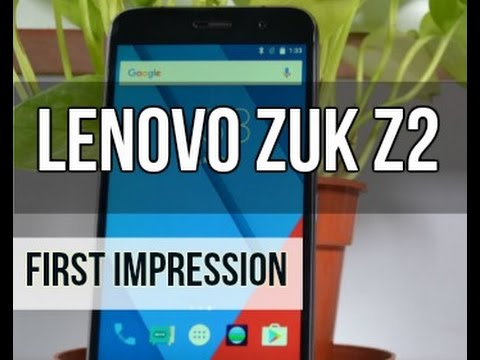 Lenovo Zuk Z2 First Look | Digit.in