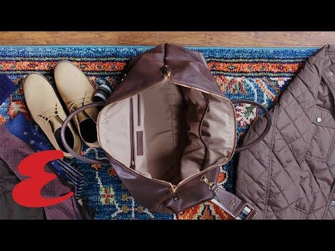 How to Pack For the Perfect Fall Getaway | Esquire + London Fog