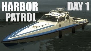 GTA IV -- LCPDFR: Harbor Patrol -- Day 1 -- 300th Video!