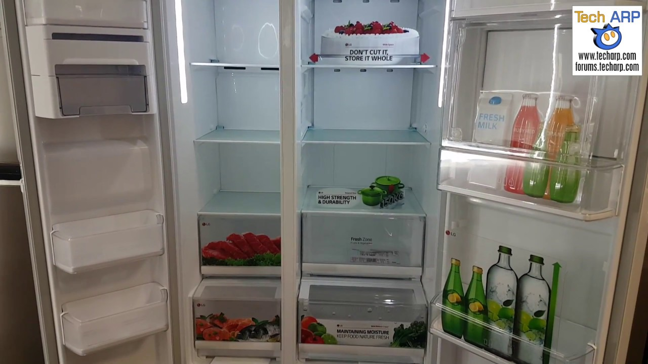 The Lg C247uguv Side By Side Refrigerator Product Tour