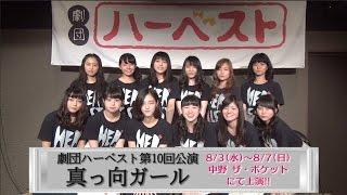 劇団ハーベストHP:http://her-best.net/ 第10回公演「真っ向ガール」チ...