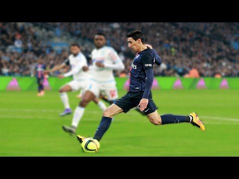 Angel Di Maria vs Marseille - AWAY - 09.02.2016 ● HD