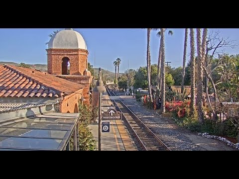 San Juan Capistrano, California USA - Cam of the Week   Virtual Railfan LIVE