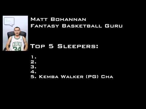 2012-2013 Fantasy Basketball Sleepers (NBA)
