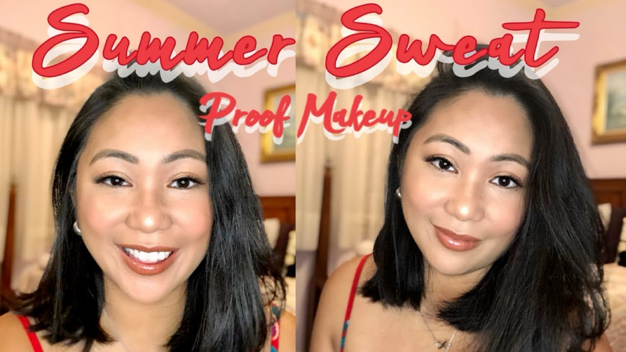 My Full Coverage Powder Foundation Routine|Sweat-Proof