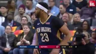 Pelicans vs Raptors 1st Quarter Highlights