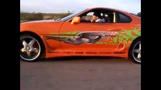 The fast and the furious  8 tayota SupRa #Best acceleration