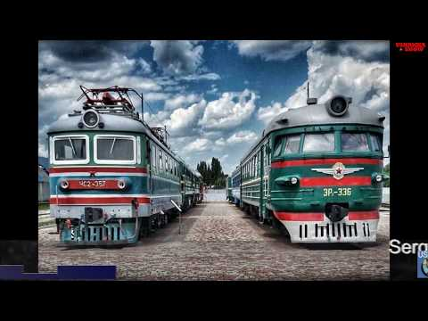 LIFE IN USSR 38. Transportation in the Soviet Union. Travelling by the train