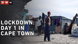 On the first day of lockdown in South Africa, soldiers, Metro Police and Law Enforcement officers made their presence felt in Cape Town.