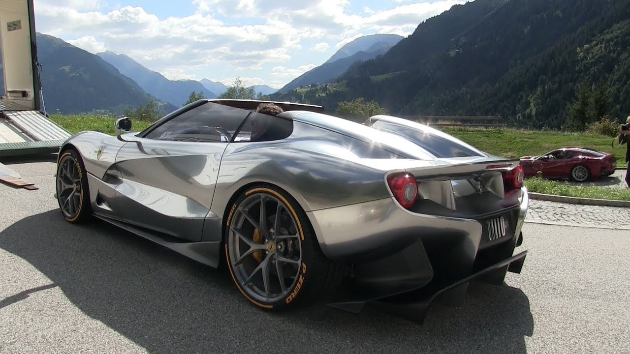 Ferrari F12 Trs Details And Start Up Sound Youtube