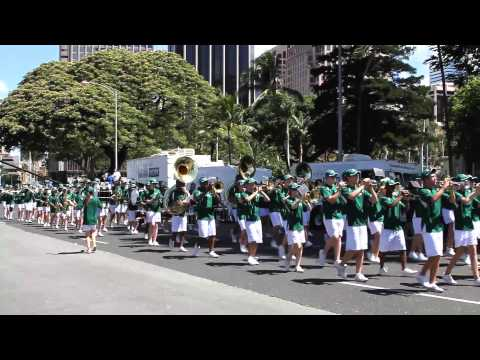 Pattonville HS Marching Band | 2012 King Kamehameha Celebration Floral Parade
