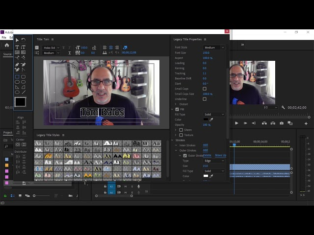 Tech Tip: Adding a Title in Adobe Premiere Pro