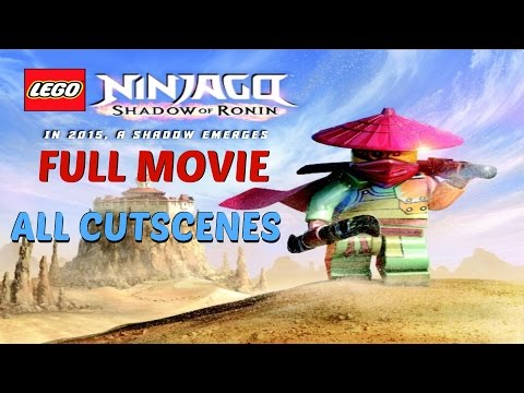 Lego Ninjago Shadow of Ronin - All Cutscenes / Full Movie