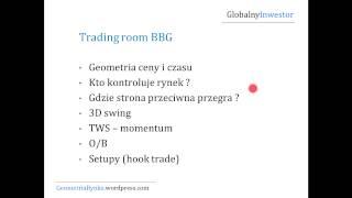 Pro Webinar FOREX z Mieczysławem Siudkiem (Globalny Inwestor) cz.2