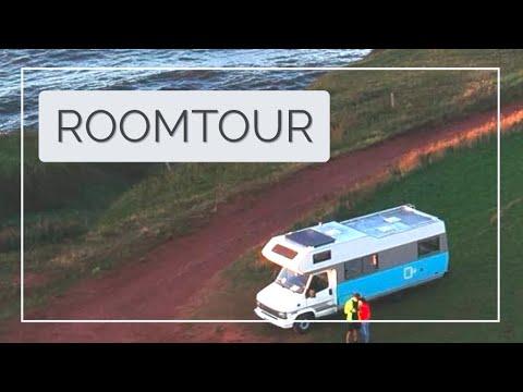 Wohnmobil / Camper Room Tour | Cooles Wohnmobil für junge Leute | Wohnmobil selbst renovieren