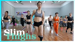 Exercise To Slim Thighs Exercise for Beauty Once a Day EMMA Fitness