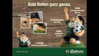 Bubi Bolten ganz genau. Der Borussia Mönchengladbach Fan-Gartenzwerg