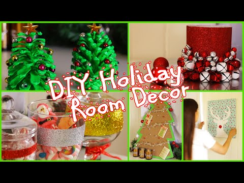 DIY Christmas Room Decorations Easy \ Cheap! - YouTube - christmas room decorations
