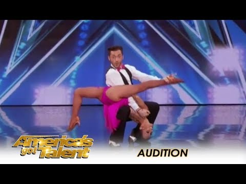 Quin & Misha: 71-Year-Old SHOCKING Age-Defying Dance Moves   Americas Got Talent 2018