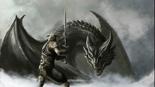 Древние свитки 5 /|\ Скайрим. Дракоша-спаситель (¬‿¬)
