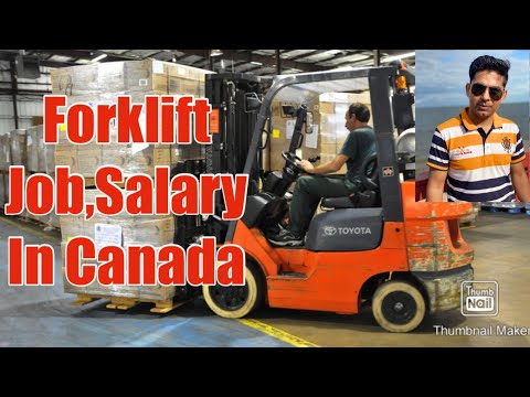 Forklift Jobs,Salary& Training In Canada| Urdu,Punjabi