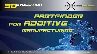 AM Webinar - New 3D printing software 4D Additive Part2: Partfinder and Batch Nesting