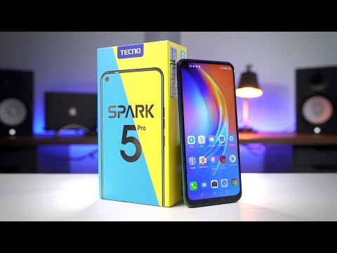 TECNO Spark 5 Pro | UNBOXING and QUICK REVIEW