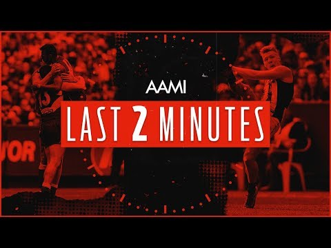 West Coast v Collingwood: AAMI Last Two Minutes | 2018 Toyota AFL Grand Final | AFL