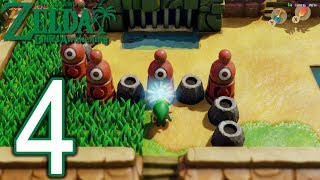The Legend Of Zelda Link's Awakening Switch Walkthrough - Part 4 - Kanalet Castle, Key Cavern