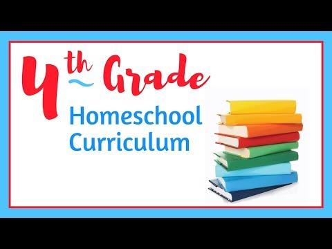 4th Grade HOMESCHOOL Curriculum  20172018