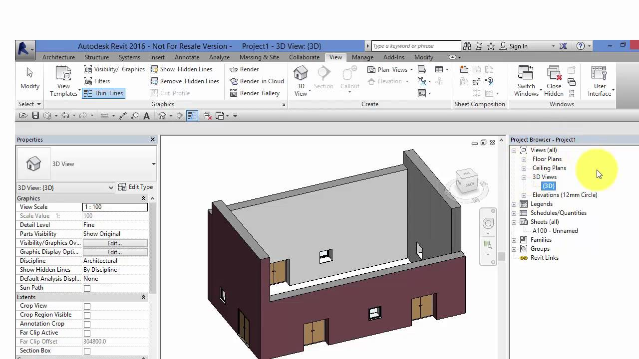 Autodesk Revit: The Project Browser explained - BIMscape