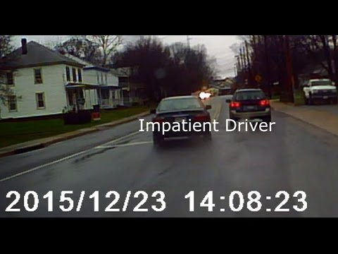 Impatient Driver meets Karma in Manassas Virginia