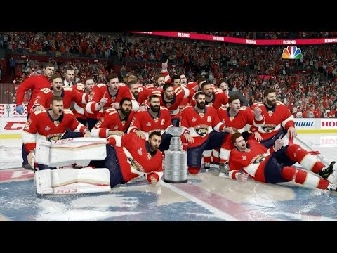 NHL 18 - Florida Panthers Stanley Cup Celebration