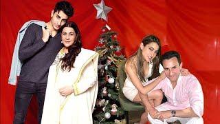 Cover images Saif Ali Khan's Big $urprise For Ex-Wife Amrita, Kids Sara & Ibrahim On X-mas By Celebratng Wid Dem