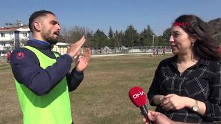 Profesyonel liglerin tek işitme engelli futbolcusu Fırat Kaya'nın hedefi Süper Lig