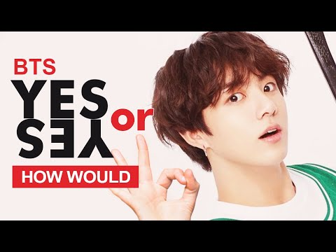 """How Would BTS Sing TWICE """" YES or YES """" (Male Version) Line Distribution"""