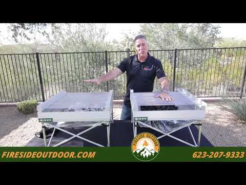 Pop Up Pit   Grill Grates and Cooking