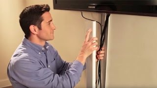 Wiremold: How to Hide Flat Screen TV Cables