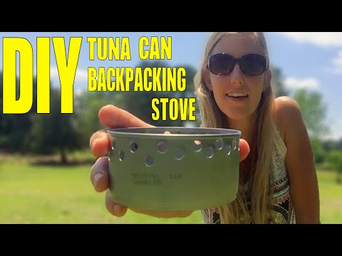 DIY Tuna Can Backpacking Stove