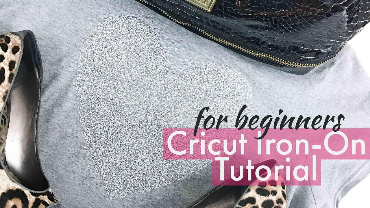 Cricut Iron On Tutorial For Beginners Youtube