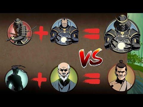 Shadow Fight 2 Vs Two Most Powerful Fusions Titan Shogun.