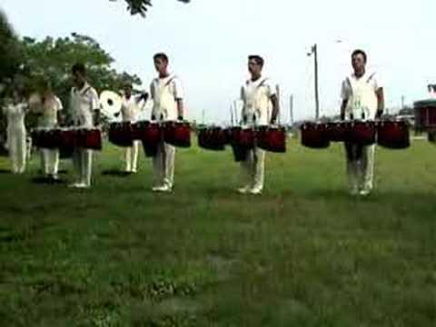 2003 Colts Drumline Warmup