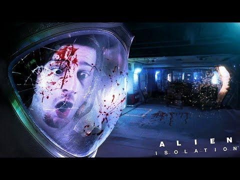NEVER TRUST A SILENT CORRIDOR..    Alien Isolation (Part 4)