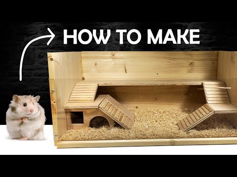 How to make a Hamster House | DIY Pet House | Rat House