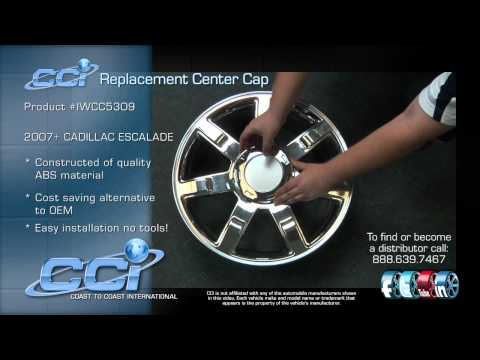 Cadillac Escalade CCI Center Cap