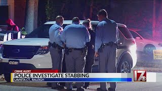 Search on for suspect after 1 stabbed in Raleigh home