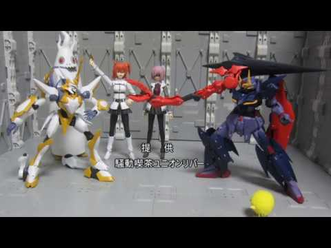 HG ガンダムゼルトザーム ゆっくりプラモ動画