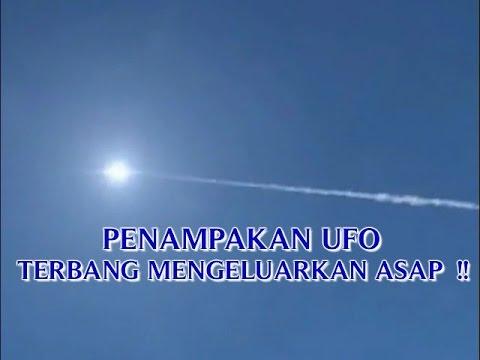 """VIDEO PENAMPAKAN UFO """"TEREKAM KAMERA PALING JELAS TERBANG ..."""